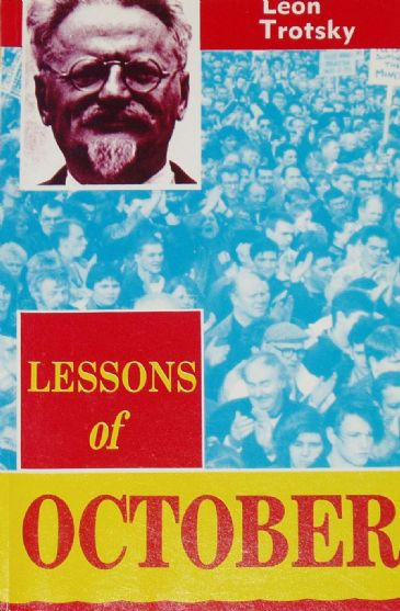 Lessons of October, by Leon Trotsky